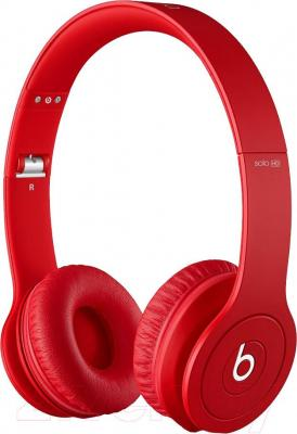 Наушники Beats Solo HD (Red) - общий вид