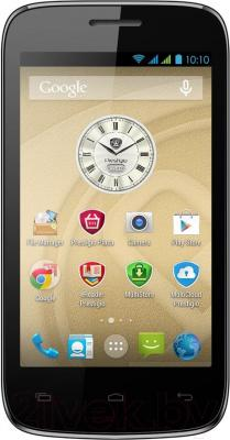 Смартфон Prestigio MultiPhone 3404 Duo (Black) - общий вид