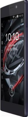 Смартфон Prestigio MultiPhone 7557 Grace (черный) - вполоборота