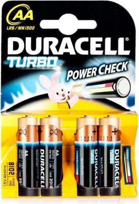 Батарейки АА Duracell Turbo LR6 (4шт) - общий вид