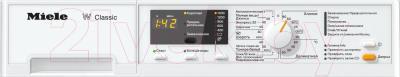 Стиральная машина Miele WDA 100 - панель управления