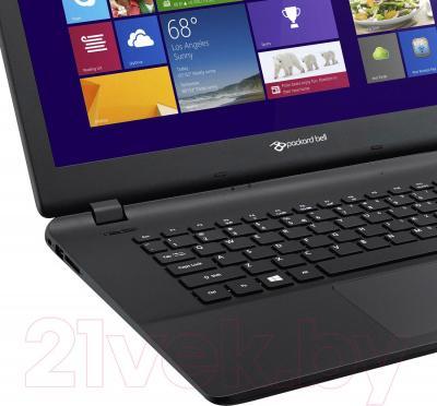 Ноутбук Packard Bell ENLG71BM-P524 (NX.C3WEU.002) - крупным планом