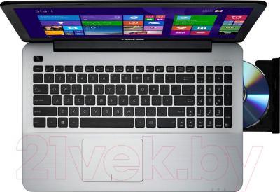 Ноутбук Asus X555LN-XO022D - вид сверху