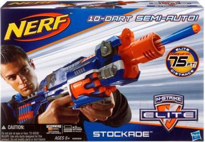 Бластер Hasbro NERF N-Strike Elite Stockade (98695) - упаковка