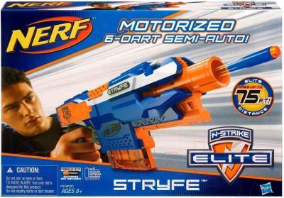 Бластер Hasbro NERF N-Strike Elite Stryfe (A0200) - упаковка