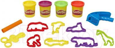 Игровой набор Hasbro Play-Doh Сумочка с животными (37545) - общий вид