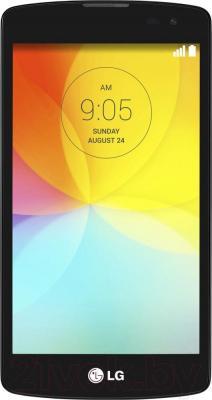 Смартфон LG L70+ L Fino / D290n (черный) - общий вид