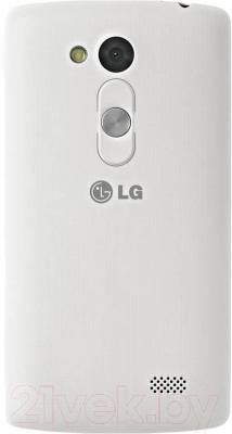 Смартфон LG L70+ L Fino / D290n (черно-белый) - вид сзади