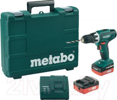 Профессиональная дрель-шуруповерт Metabo BS 14.4 Li Set (602105540) - общий вид