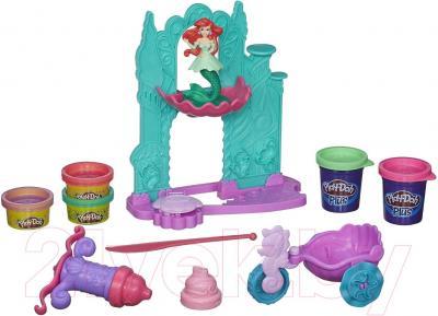 Игровой набор Hasbro Play-Doh Замок и карета Ариэль (A7396) - общий вид