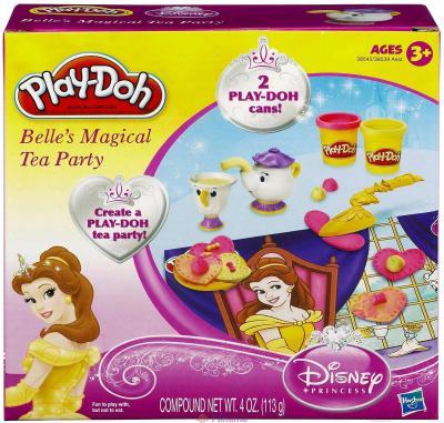 Игровой набор Hasbro Play-Doh Замок Белль (A7397) - упаковка