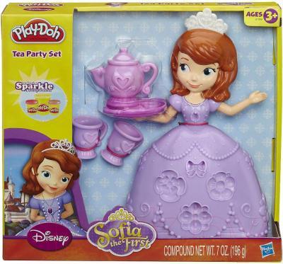 Игровой набор Hasbro Play-Doh Чайная церемония принцессы Софи (A7398) - упаковка