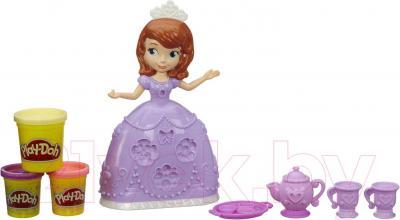 Игровой набор Hasbro Play-Doh Чайная церемония принцессы Софи (A7398) - общий вид