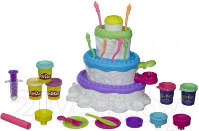 Игровой набор Hasbro Play-Doh Праздничный торт (A7401) - общий вид