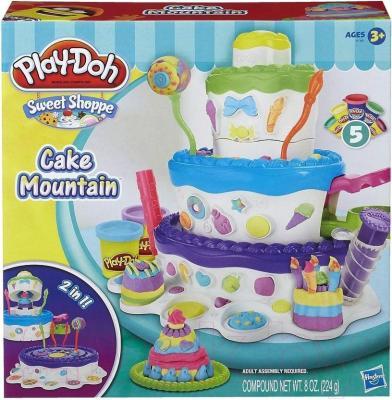 Игровой набор Hasbro Play-Doh Праздничный торт (A7401) - упаковка