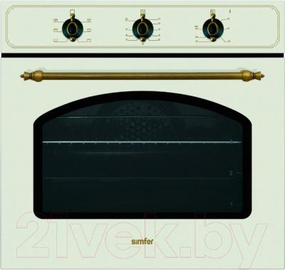 Электрический духовой шкаф Simfer B6EO15001 (B 6006 YERO) - общий вид