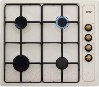 Газовая варочная панель Simfer H60Q40O401 (H 6400 QGRO) - общий вид