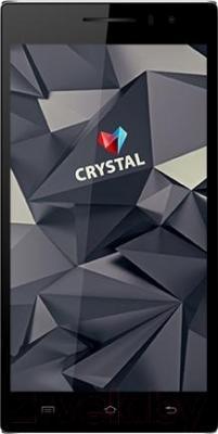 Смартфон Keneksi Crystal (черный) - общий вид