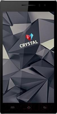 Смартфон Keneksi Crystal (белый) - общий вид
