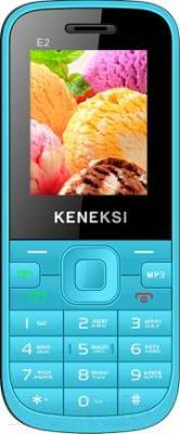 Мобильный телефон Keneksi E2 (голубой) - общий вид