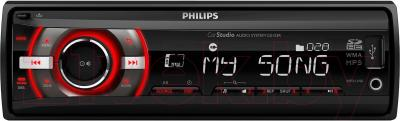Бездисковая автомагнитола Philips CE133R/51 - общий вид
