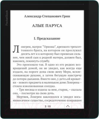 Электронная книга PocketBook InkPad 840 (темно-коричневый) - общий вид