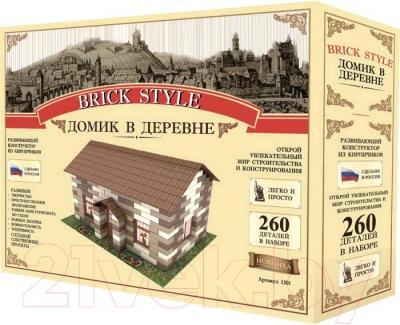 Конструктор Brick Style Домик в деревне - общий вид