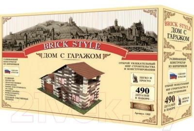 Конструктор Brick Style Дом с гаражом - общий вид