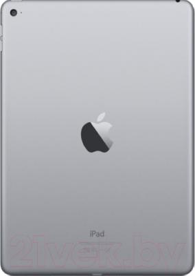 Планшет Apple iPad Air 2 64Gb / MGKL2TU/A (серый) - вид сзади