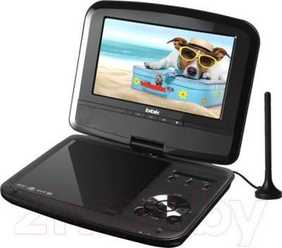 Портативный DVD-плеер BBK PL744TI (Dark Gray) - общий вид