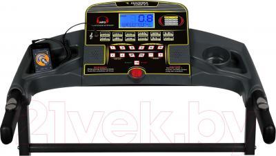 Электрическая беговая дорожка Diadora Audio 2.4 - панель управления