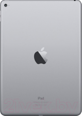 Планшет Apple iPad Air 2 128Gb / MGTX2TU/A (серый) - вид сзади