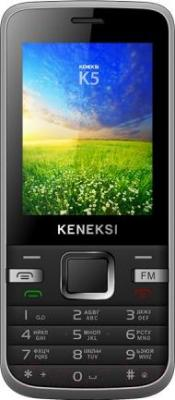 Мобильный телефон Keneksi K5 (черный) - общий вид
