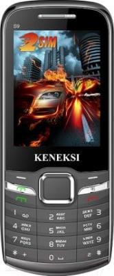 Мобильный телефон Keneksi S9 (черный) - общий вид