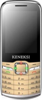 Мобильный телефон Keneksi S9 (золотой) - общий вид