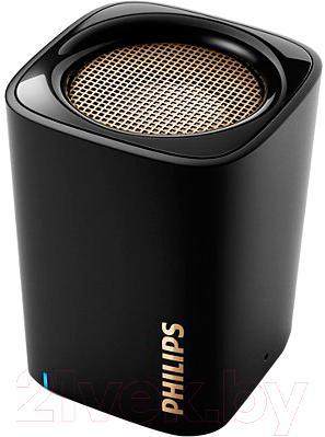 Портативная колонка Philips BT100B/00 - общий вид