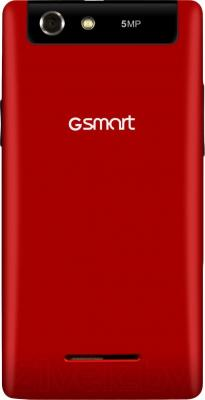 Смартфон Gigabyte GSmart Roma R2 Plus (Red) - вид сзади