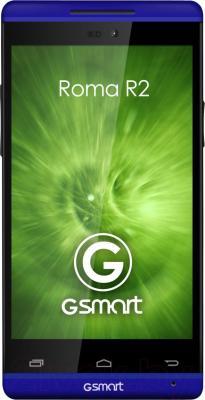 Смартфон Gigabyte GSmart Roma R2 Plus (Dark Blue) - общий вид