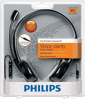 Наушники-гарнитура Philips SHM3560/10 - в упаковке