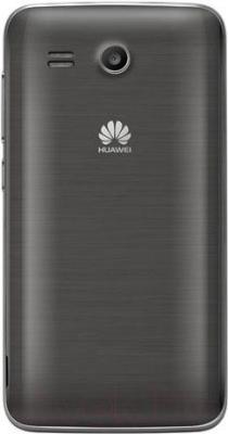 Смартфон Huawei Ascend Y511 (черный) - вид сзади