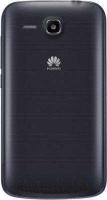 Смартфон Huawei Ascend Y600 (черный) - вид сзади