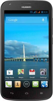 Смартфон Huawei Ascend Y600 (черный) - общий вид