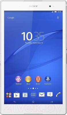 Планшет Sony Xperia Tablet Z3 16GB (SGP621RU/W) - фронтальный вид