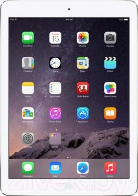 Планшет Apple iPad Air 2 16Gb 4G / MGH72TU/A (серебристый) - фронтальный вид