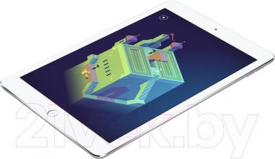 Планшет Apple iPad Air 2 16Gb 4G / MGH72TU/A (серебристый) - общий вид