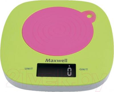 Кухонные весы Maxwell MW-1465 - общий вид