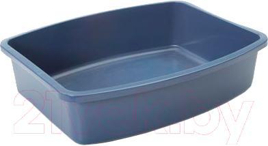 Туалет-лоток Savic Oval tray Large 02170066 (синий) - общий вид