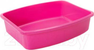 Туалет-лоток Savic Oval tray Large 02170061 (фуксия) - общий вид