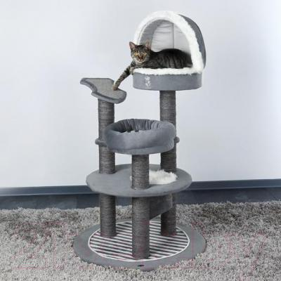 Комплекс для кошек Trixie Cat Prince 45610 (Gray) - общий вид