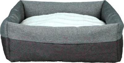Лежанка для животных Trixie Milan 37702 (темно-серый/светло-серый) - общий вид